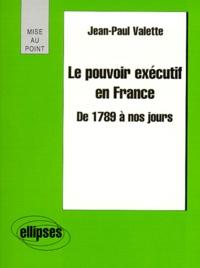 Histoiresdenlire.be Le pouvoir exécutif en France de 1789 à nos jours Image