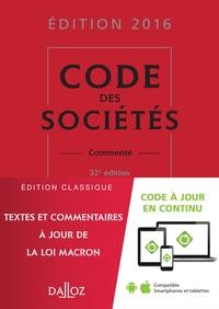 Jean-Paul Valuet et Alain Lienhard - Code des sociétés - Commenté.
