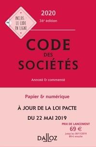 Jean-Paul Valuet et Alain Lienhard - Code des sociétés - Annoté et commenté.