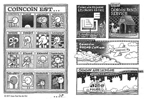 Les Zaventures de CoinCoin. Tome 1