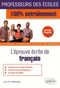Histoiresdenlire.be L'épreuve écrite de français Image