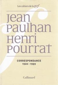 Jean Paulhan et Henri Pourrat - Correspondance - 1920-1959.