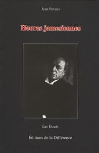 Jean Pavans - Heures jamesiennes.