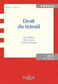 Jean Pélissier et Gilles Auzero - Droit du travail 2013.