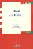 Jean Pélissier et Alain Supiot - Droit du travail.