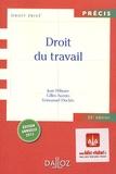 Jean Pélissier et Gilles Auzero - Droit du travail.