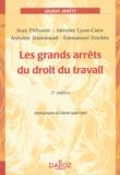 Jean Pélissier et Antoine Lyon-Caen - Les grands arrêts du droit du travail.