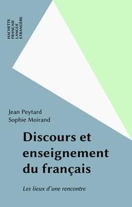 Jean Peytard et Sophie Moirand - .