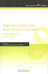 Jean-Philippe Agresti et Eric Gasparini - Repenser la démocratie et ses formes d'expression - Journée des doctorants du 7 juin 2019.