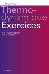 Jean-Philippe Ansermet et Sylvain Bréchet - Thermodynamique - Exercices.