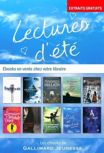 Jean-Philippe Arrou-Vignod et Ann Brashares - 10 romans Gallimard Jeunesse - Extraits.
