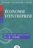 Jean-Philippe Barret - Economie d'Entreprise BTS Hôtellerie-Restauration 1ère et 2ème années.