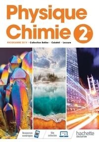 Jean-Philippe Bellier et Julien Calafell - Physique-Chimie 2de - Livre de l'élève.