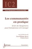 Jean-Philippe Bootz et Francis Kern - Les communautés en pratique - Leviers de changements pour l'entrepreneur et le manager.
