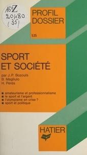 Jean-Philippe Bozouls et Bruno Magliulo - Sport et société.