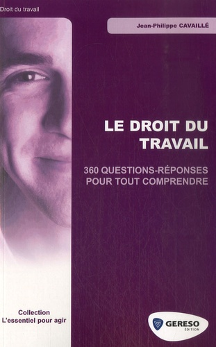 Jean-Philippe Cavaillé - Le droit du travail - 360 questions-réponses pour tout comprendre.