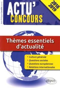 Jean-Philippe Cavaillé - Thèmes essentiels d'actualité.