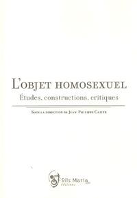 Jean-Philippe Cazier - L'objet homosexuel - Etudes, constructions, critiques.