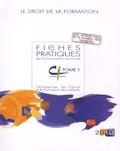 Jean-Philippe Cépède - Les fiches pratiques de la formation continue - Le droit de la formation, 2 volumes.