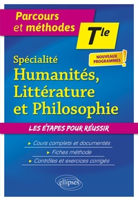 Jean-Philippe Chemineau et Michèle Claveau - Humanités, littérature et philosophie Tle Spécialité.