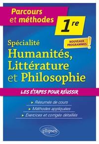 Jean-Philippe Chemineau et Natalie Cossart - Spécialité humanités, littérature et philosophie 1re.