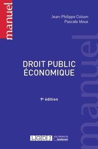 Droit public économique - Jean-Philippe Colson |