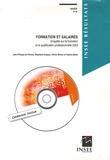 Jean-Philippe de Palmas et Stéphanie Dupays - Formation et salaires - Enquête sur la formation et la qualification professionnelle 2003. 1 Cédérom