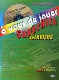 Jean-Philippe Delrieu - SuperHits Claviers - A vous de jouer. 1 CD audio