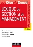 Jean-Philippe Denis et Alain-Charles Martinet - Lexique de gestion et de management.