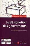 Jean-Philippe Derosier - La désignation des gouvernants - 2e Forum, 17 et 18 juin 2016.