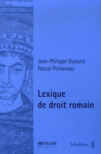 Lexique de droit romain.pdf