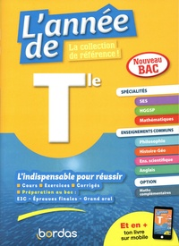 Jean-Philippe Fourestier et Caroline Fraysse - L'année de Tle spécialités SES / HGGSP / maths + enseignements communs.