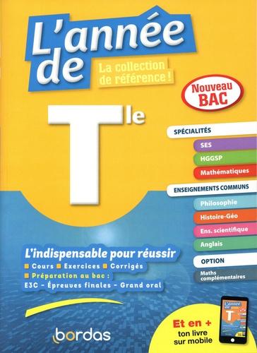 L'année de Tle spécialités SES / HGGSP / maths + enseignements communs  Edition 2020