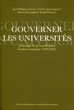 Jean-Philippe Leresche et Frédéric Joye-Cagnard - Gouverner les universités - L'exemple de la coordination Genève-Lausanne (1990-2010).