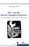 """Jean-Philippe Martin - Des """"mai 68"""" dans les campagnes françaises ? - Les contestations paysannes dans les années 1968."""