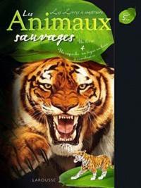 Jean-Philippe Noël - Les Animaux sauvages - Un livre + Un superbe tigre en bois à construire.