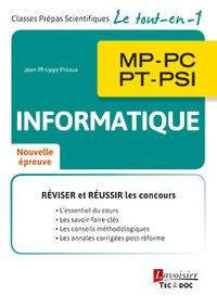 Informatique 2e année MP, PC, PT, PSI - Jean-Philippe Preaux pdf epub