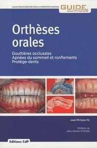 Jean-Philippe Ré - Orthèses orales - Gouttières occlusales, Apnées du sommeil et ronflements, Protège-dents.