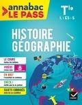 Jean-Philippe Renaud - Histoire-géo Tle L ES S - Pour réviser le bac en grand format.