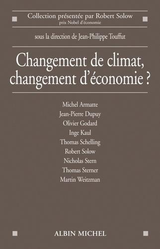 Changement de climat, changement d'économie ?