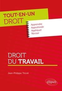 Jean-Philippe Tricoit - Droit du travail.