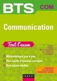 Jean Piau et Eric Bizot - BTS Communication Tout l'exam - 2e éd..