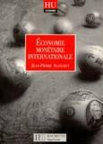 Jean-Pierre Allegret - Économie monétaire internationale.