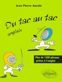 Deedr.fr DU TAC AU TAC ANGLAIS. Plus de 1500 phrases prêtes à l'emploi Image