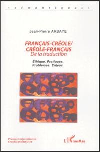 Français-créole/créole-français - De la traduction, Ethique, pratiques, problèmes, enjeux.pdf