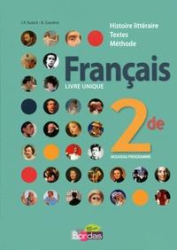 Jean-Pierre Aubrit et Bernard Gendrel - Français 2de livre unique.