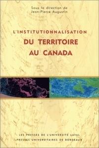 Linstitutionnalisation du territoire au Canada.pdf
