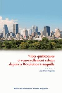 Histoiresdenlire.be Villes québécoises et renouvellement urbain depuis la révolution tranquille Image