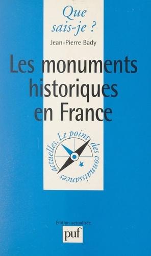 Les monuments historiques en France