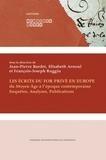 Jean-Pierre Bardet et Elisabeth Arnoul - Les écrits du for privé en Europe (du Moyen Age à l'époque contemporaine) - Enquêtes, analyses, publications.